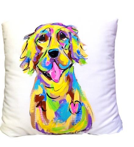 Golden Retriever | Dog Pillow