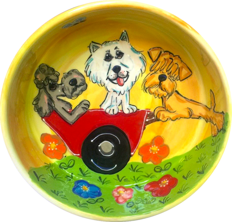 Whimsical | Dog Bowl