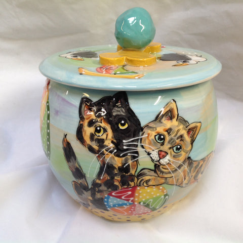 Cat Treat Jar