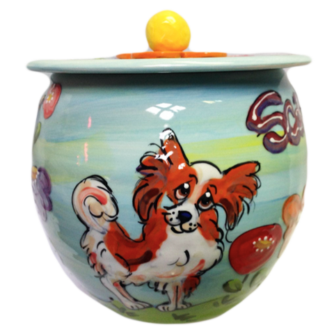 THE BEST TREAT STORAGE CONTAINERS PERSONALIZED WITH PET IMAGE