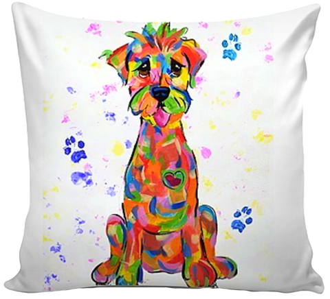 Rainbow Paws | Rainbow Palz© | Custom Pet Pillows