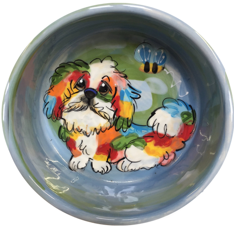 photo of Rainbow Palz Shih Tzu Bowl