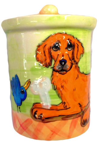 Golden Retriever | Contemporary Treat Jar