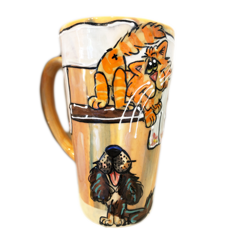 Whimsical Tall Latte | Dog Mugs and Tall Lattes