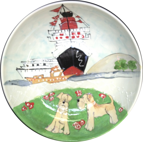 Wheaten Terrier | Dog Trophy Platter