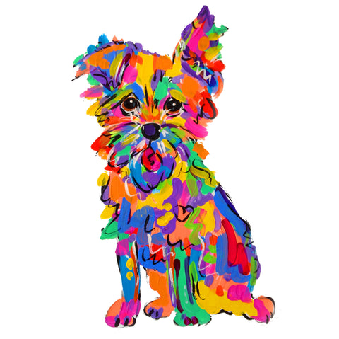 Rainbow Palz™ | Terrier Painting