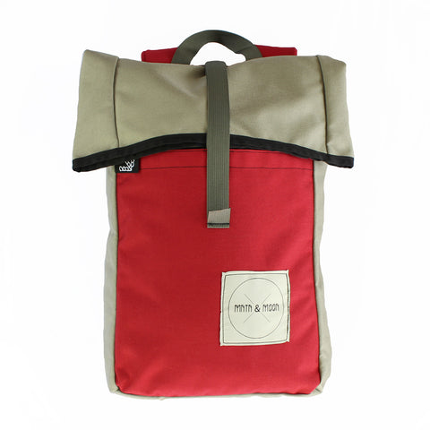 Mini Kappsack backpack | rolltop rucksack backpack