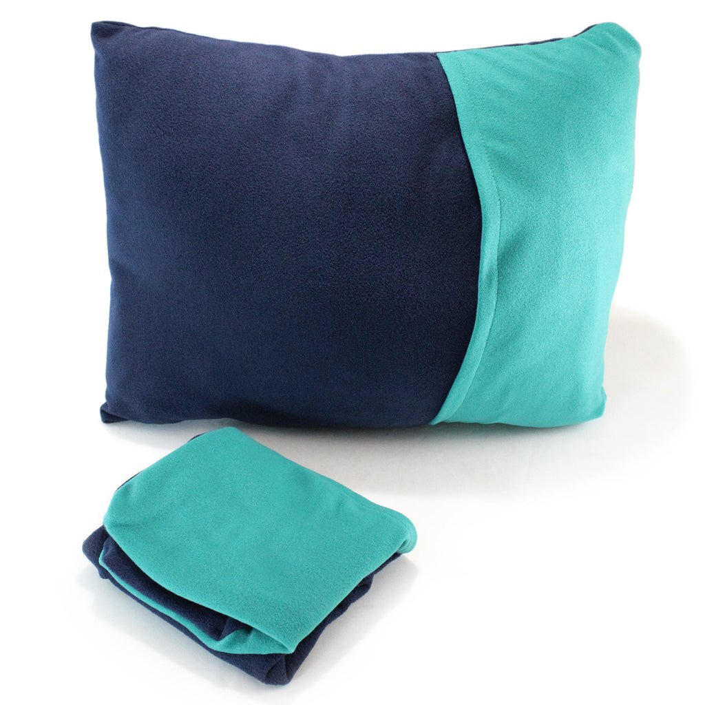 Nomad Travel Pillow Case by Mntn & Moon | travel pillow backpacking pillow