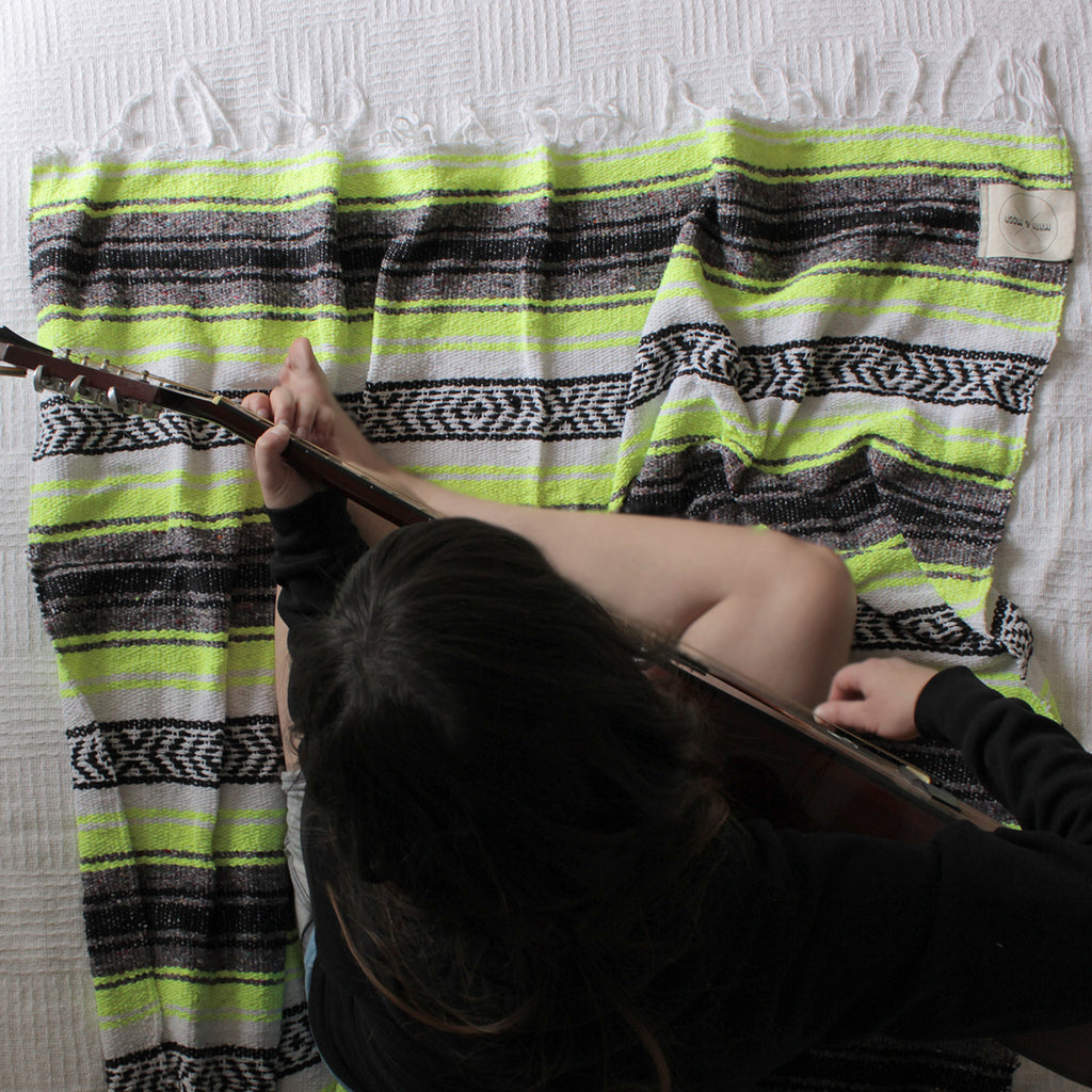 Salvaje Mexican Falsa Blanket by Mntn & Moon