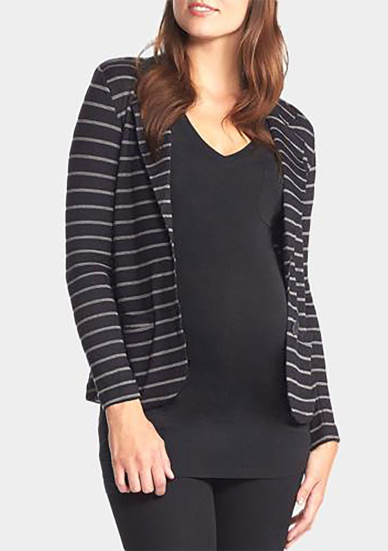 BLACK/GREY STRIPE