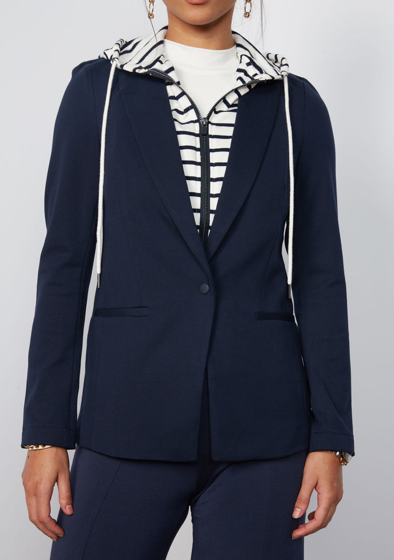 NAVY W/ STRIPE