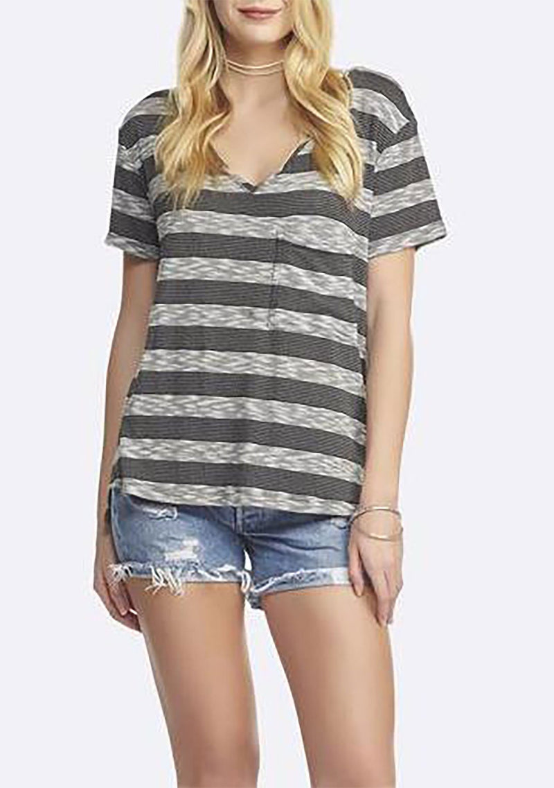 BLACK/CHARCOAL STRIPE