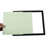 "5"" x 7"" EZ Mount Document Frame Glass Face, Black"