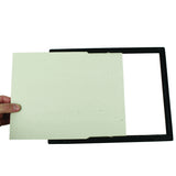 "(3) 8.5"" x 11"" EZ Mount Document Frame Plastic Face VALUE PACK, Black"
