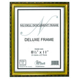 Deluxe Wood Document Frame