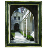 "8.5"" x 11"" Prestigious Traditional Document Frame Plastic Face, Black"