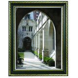 "8.5"" x 11"" Prestigious Traditional Document Frame Glass Face, Black"