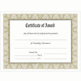 "8.5"" x 11"" Economical Award Plaque, Walnut"