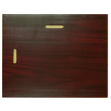 "8.5"" x 11"" Prestige Executive Award Plaque, Walnut"
