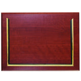 "8.5"" x 11"" Prestige Executive Award Plaque, Mahogany"