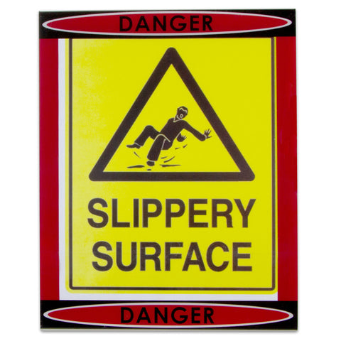 """Danger"" Sign Holder"