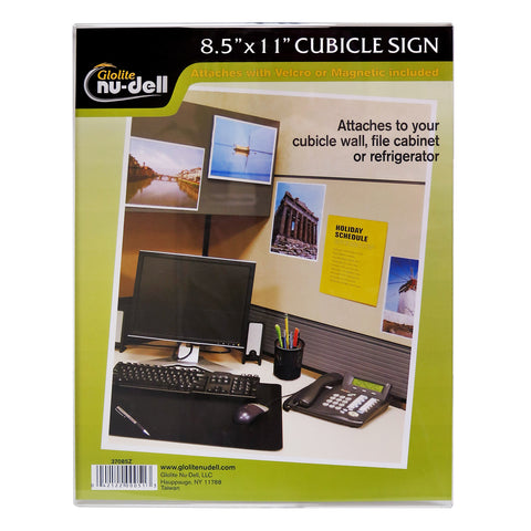 "8.5"" x 11"" All-purpose Sign Holder, Clear"