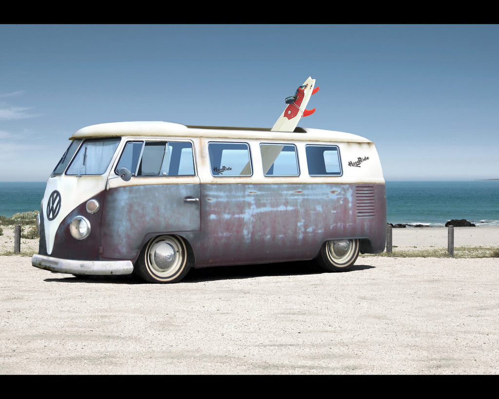 VW Bus - Beach Day