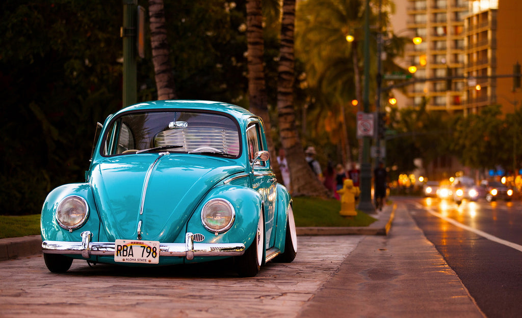 VW Bug Aqua Blue