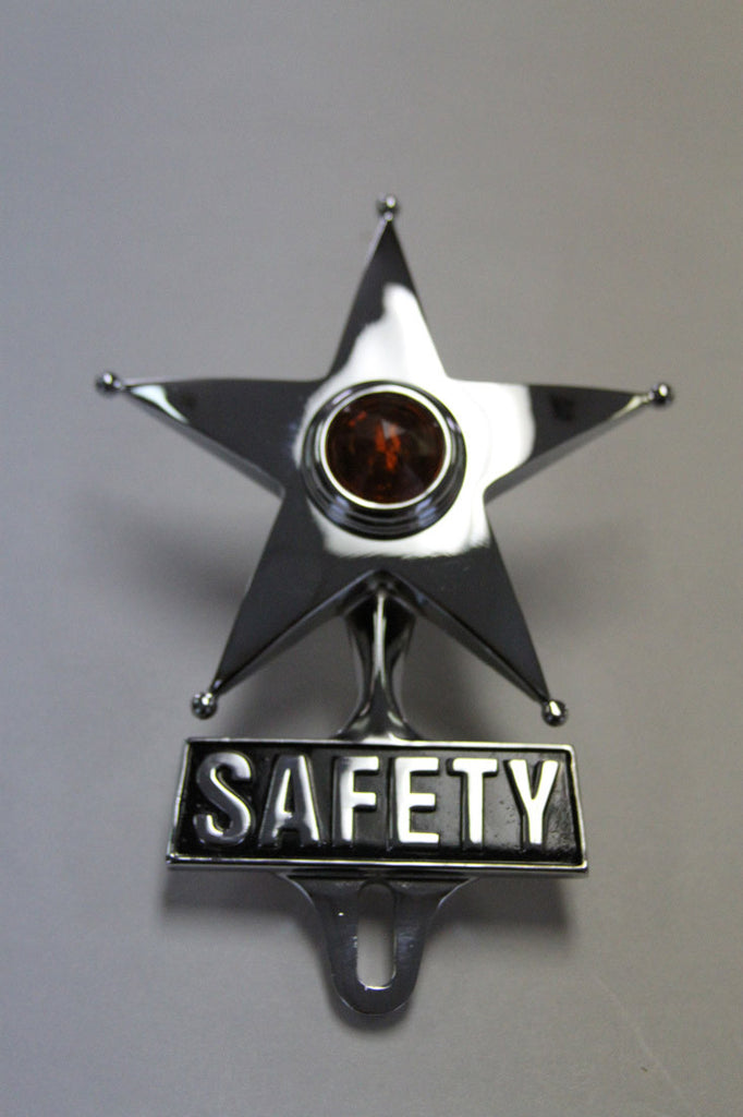 Safety Star (Amber)