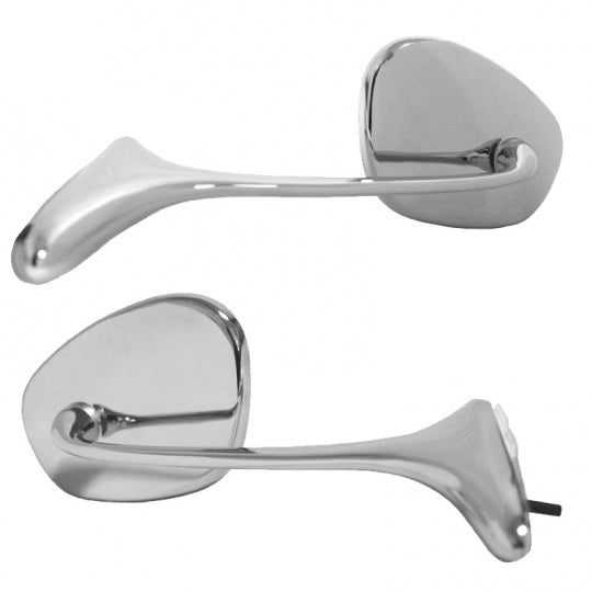 VW Swan Neck Mirrors - Pair left and Right- Beetle 1954-1966