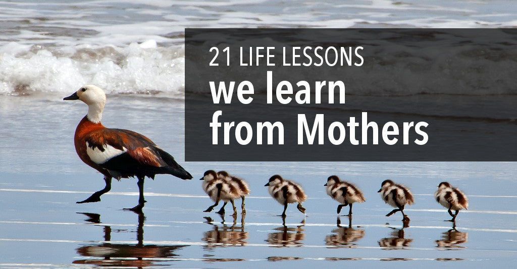 Mother's Day Life Lessons Learned from Mom