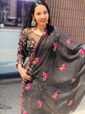 Two piece suit with dupatta