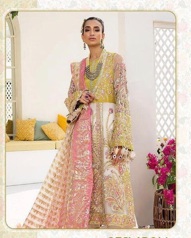 Two piece designer suit with dupatta