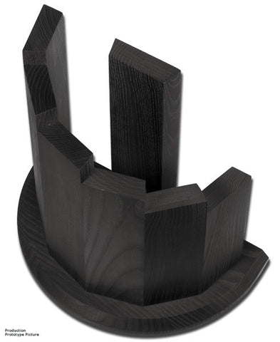 Boker Knife Block Ash Wood/Black Finish