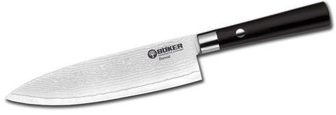 Boker Damast Black Viii Utility Kitchen Knife