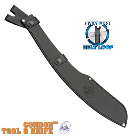 Condor Tool & Knife Leather Sheath For Parang Machete