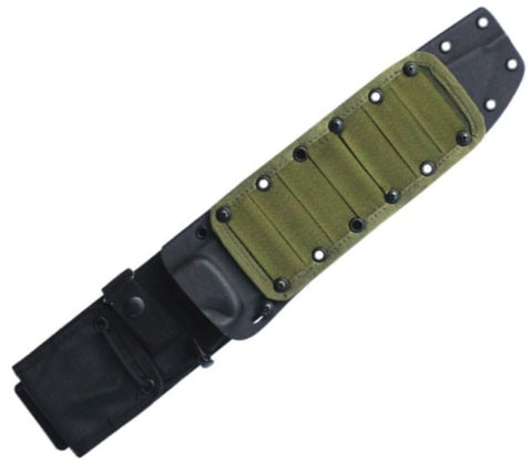 ESEE Knives Cordura MOLLE Panel to fit Junglas Kydex Sheath - OD Green