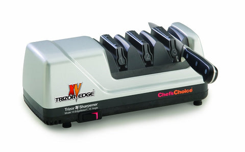 Chefs Choice 15 Trizor XV Knife Sharpener with EdgeSelect, Platinum