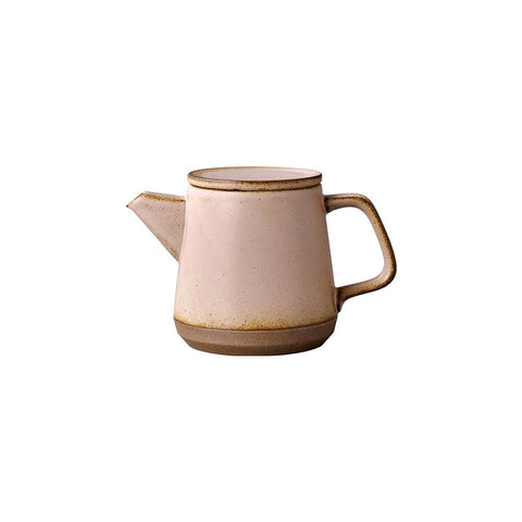 KINTO Ceramic Lab Teapot 500ml - Pink