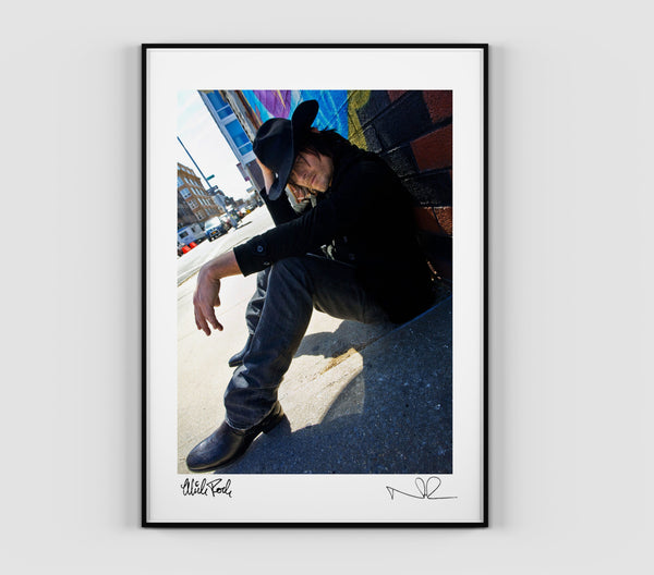 ROCK 'N' REEDUS Signed Print (1294671904839)
