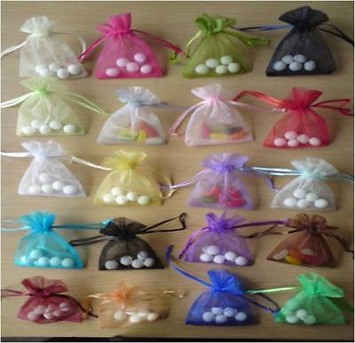 Medium Luxury Organza Wedding Favor Gift Bag Jewellery Pouches
