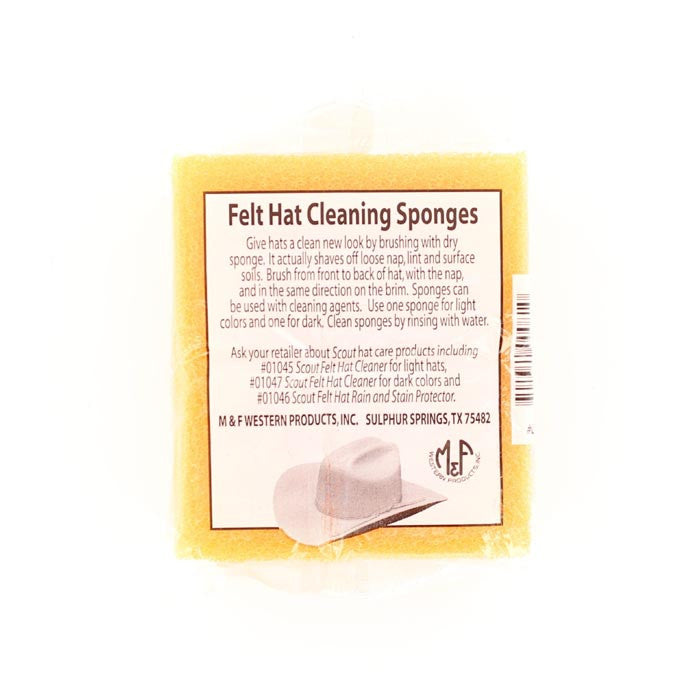 Felt Hat Cleaning Sponge #01032
