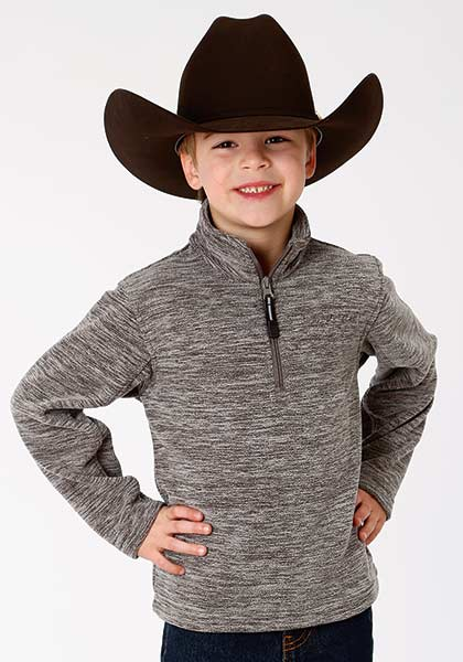 Boy's Roper Fleece Pullover #03-0397-0692-7024GY