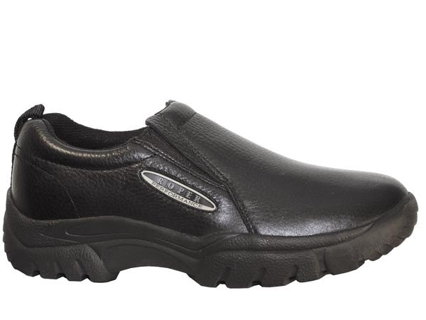 Men's Roper Sport Slip On Shoe #09-020-0601-8208BLK (Wide Widths)