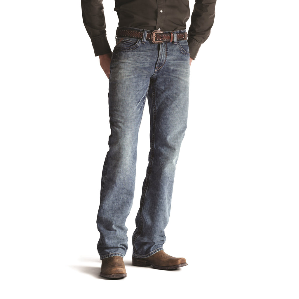 Men's Ariat M4 Low Rise Boot Cut Jean #10008403