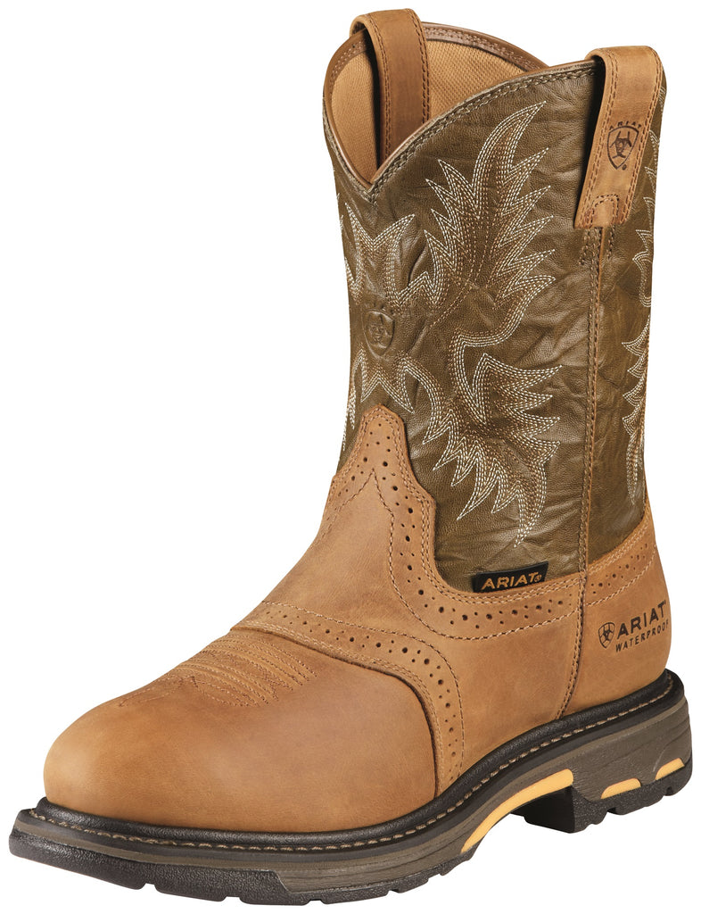 Men's Ariat WorkHog Waterproof Work Boot #10008633