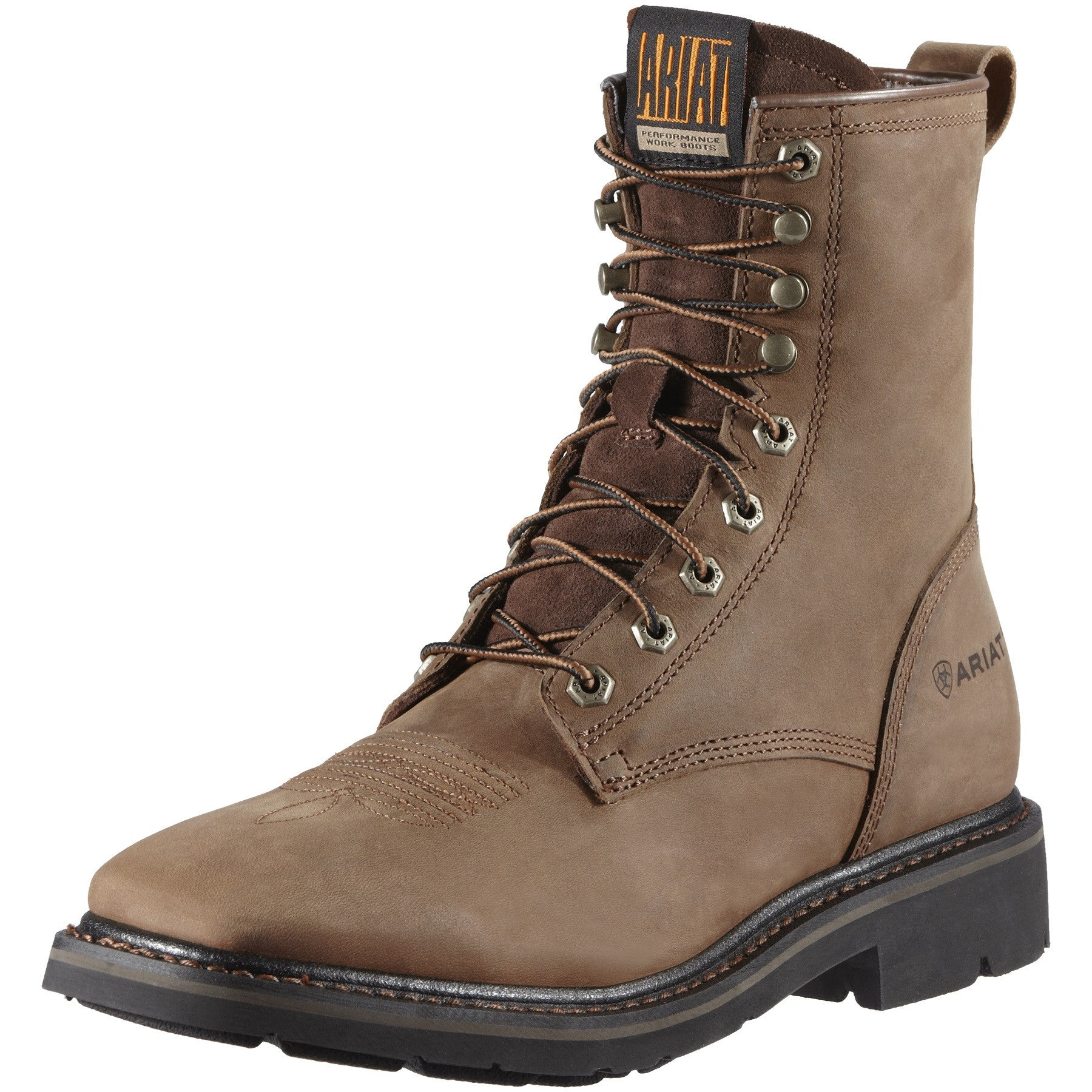 "Men's Ariat Cascade 8"" Work Boot #10011916"