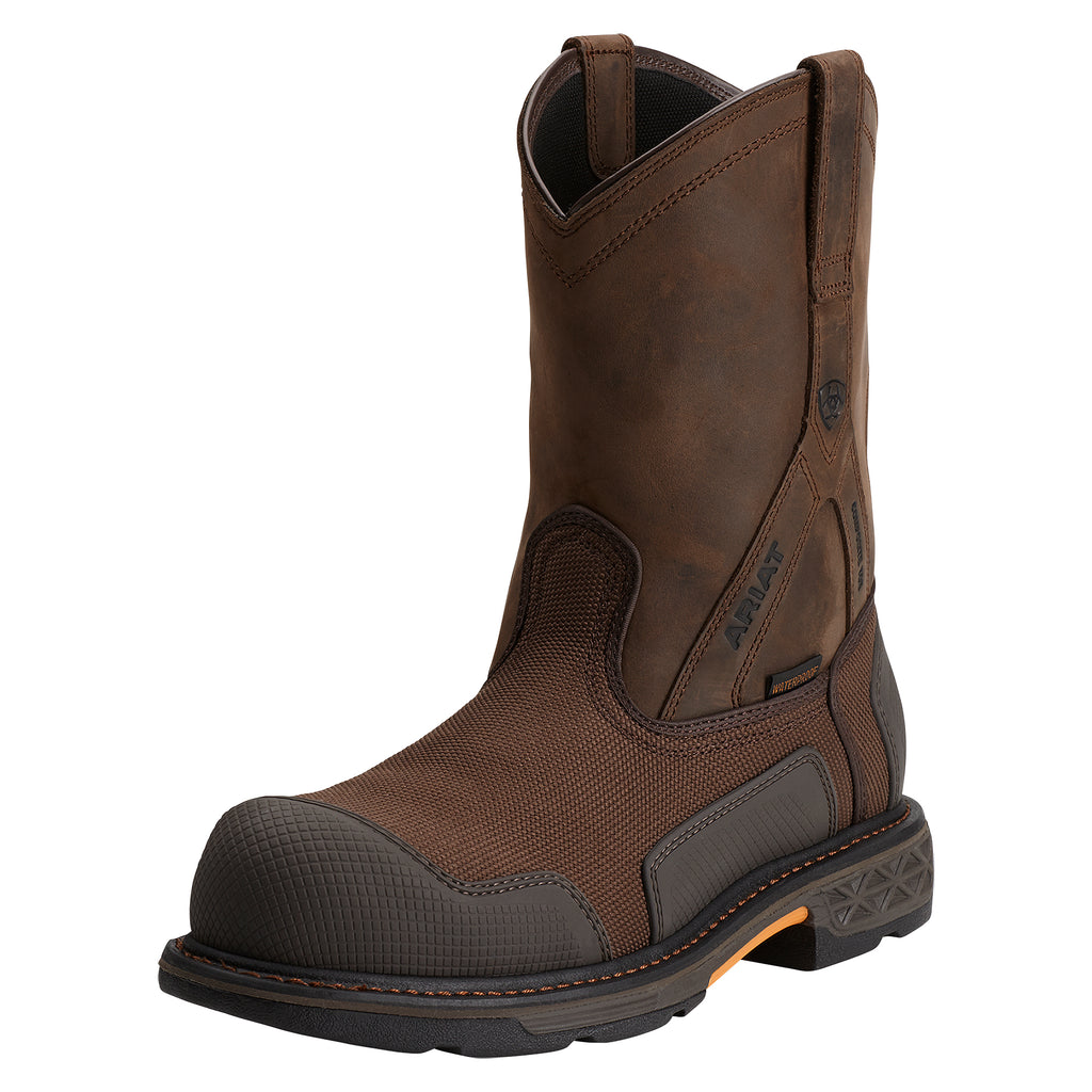 Men's Ariat Composite Toe Waterproof Overdrive XTR Boot #10012942