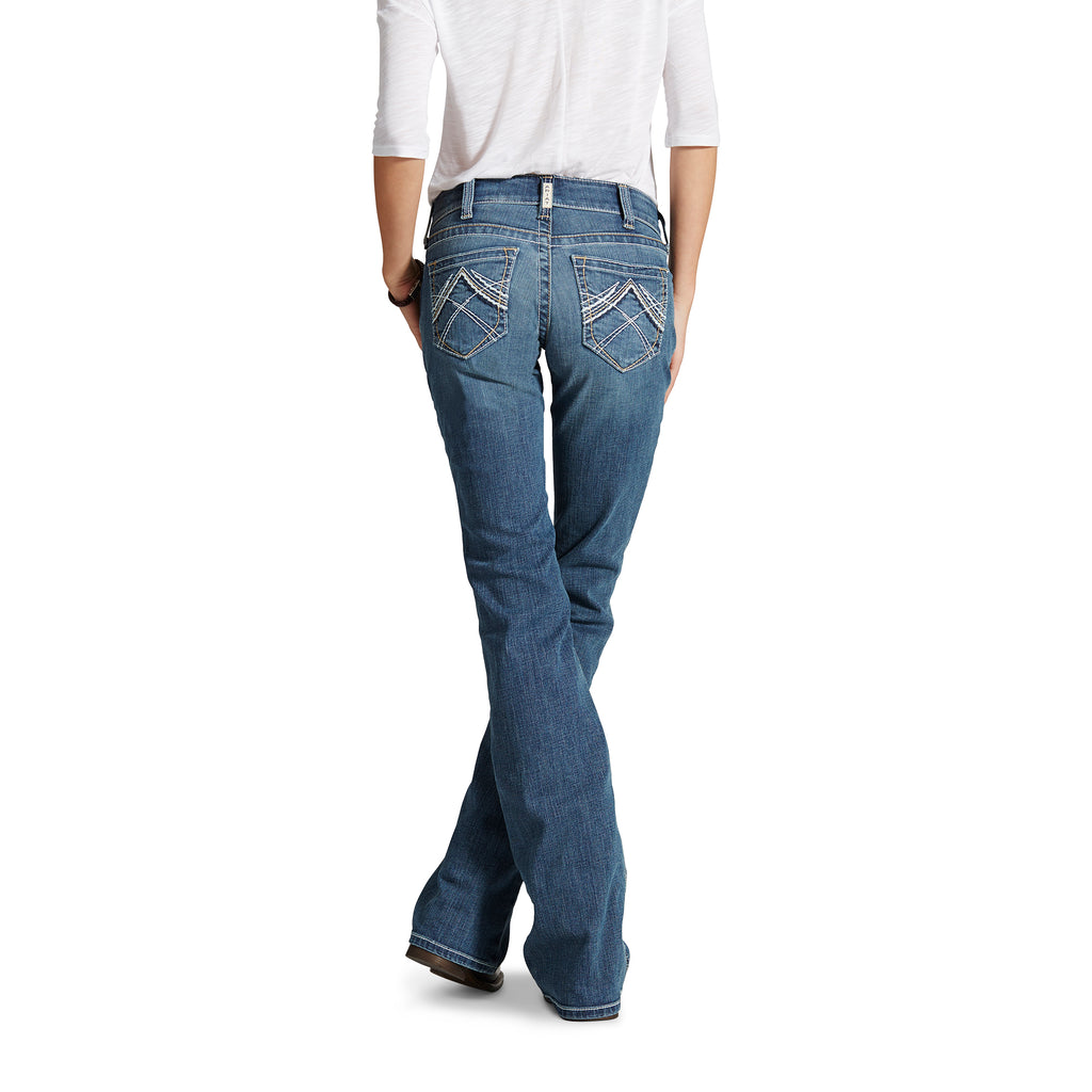 Women's Ariat R.E.A.L. Mid-Rise Boot Cut Jean #10016202