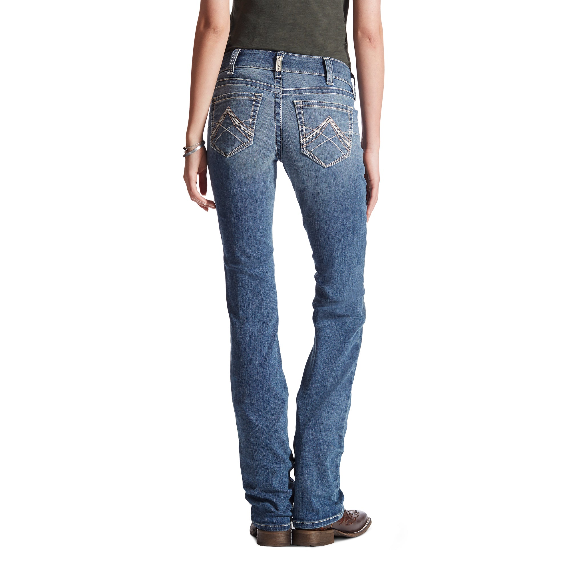 Women's Ariat R.E.A.L. Straight Leg Jean #10017217